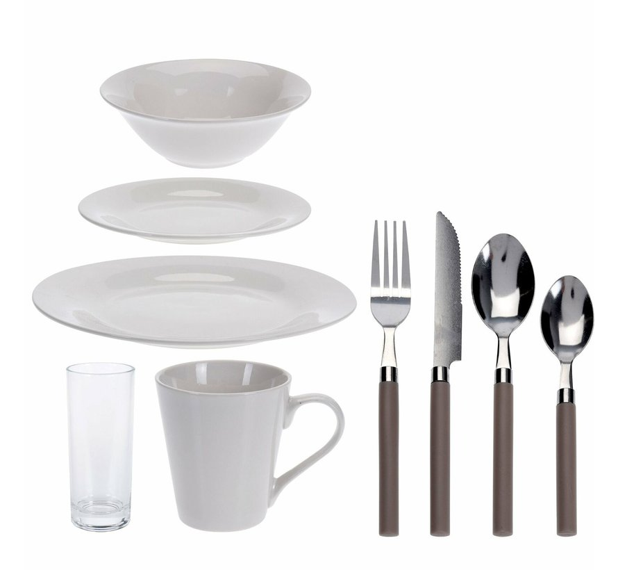 Lunchset Stokholm - 36 delig - 4 persoons