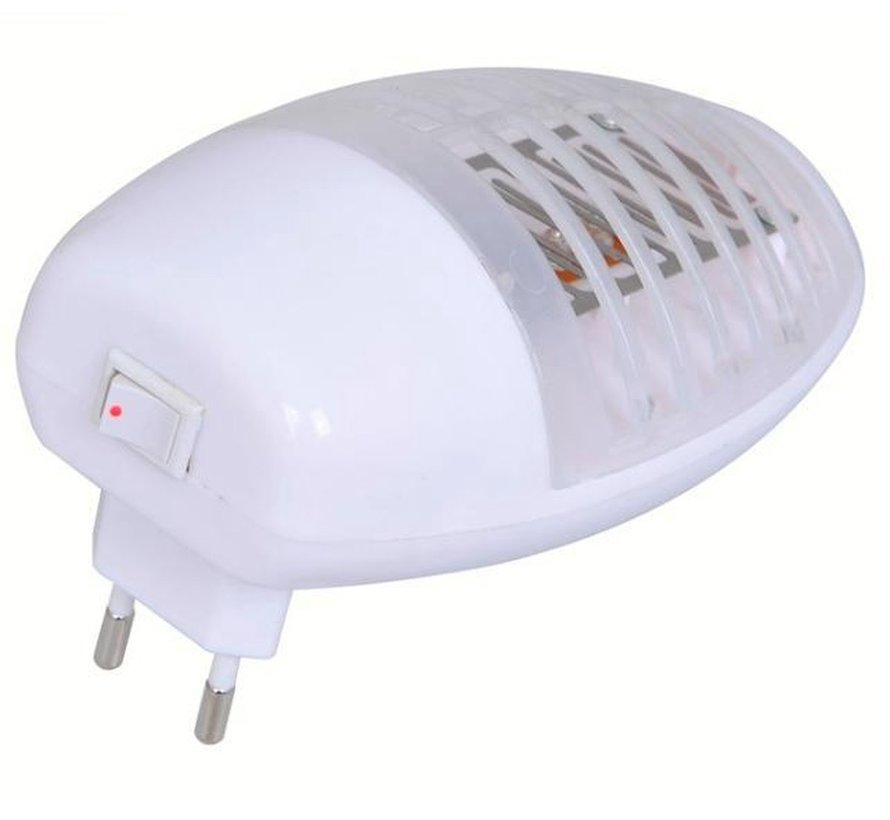1 +1 Gratis ini Muggenval - Elektrische LED insectenlamp/insectenbestrijder 22V