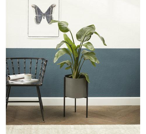 Lifa Living Plantenbak Delphine - Grijze kleur
