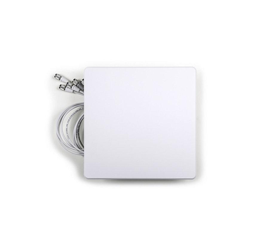 Cisco Meraki Binnen Dual-band Wide Patch Antenne, 6port voor MR53E