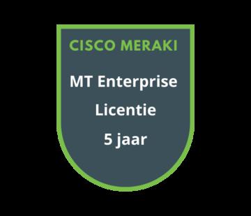 Cisco Meraki Cisco Meraki MT Enterprise Licentie 5  jaar