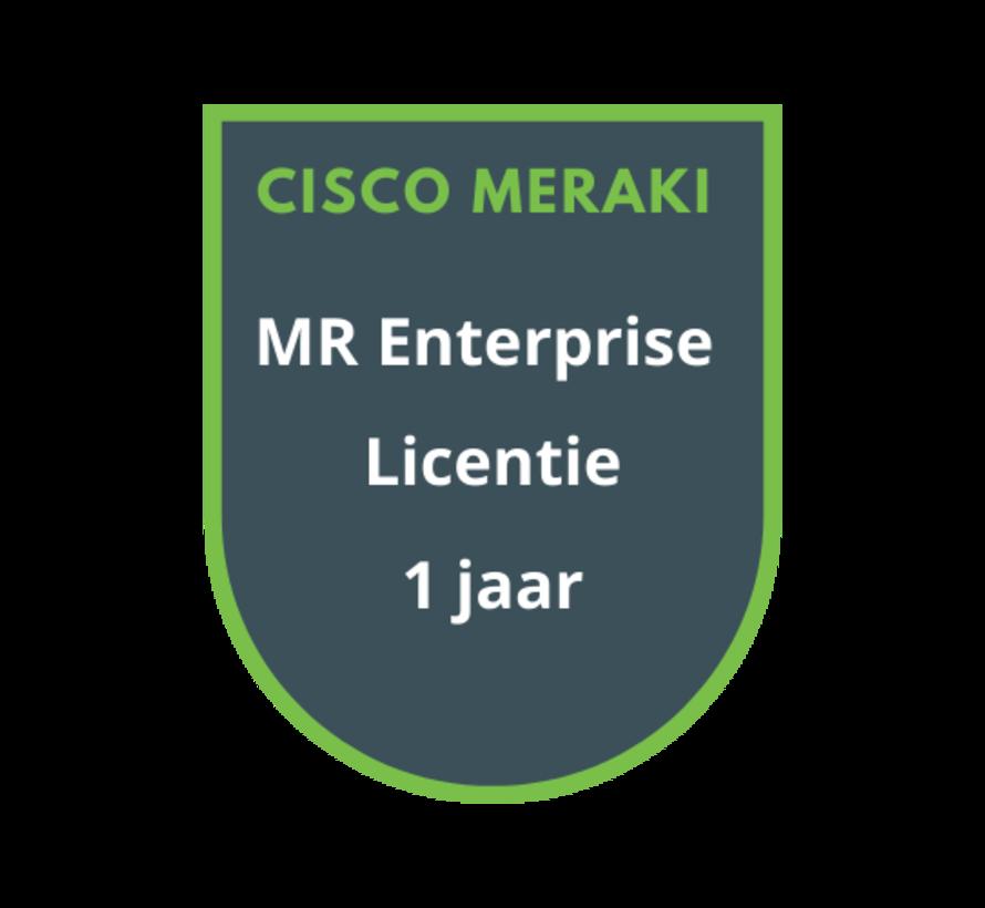 Cisco Meraki MR Enterprise Licentie 1 jaar