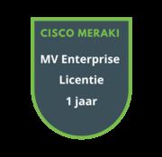Cisco Meraki Cisco Meraki MV Enterprise Licentie 1 jaar