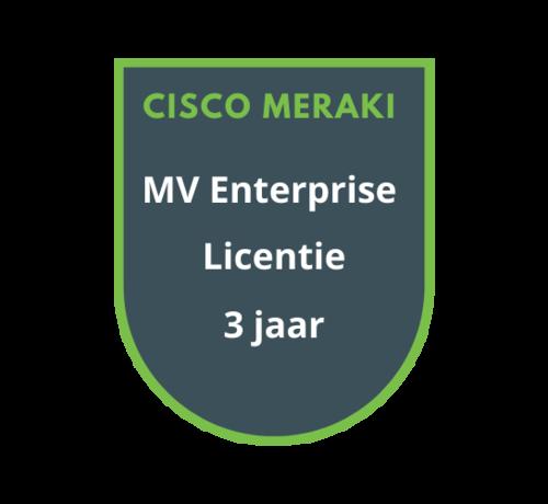 Cisco Meraki Cisco Meraki MV Enterprise Licentie 3 jaar
