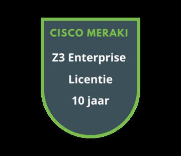 Cisco Meraki Cisco Meraki Z3 Enterprise Licentie 10 jaar