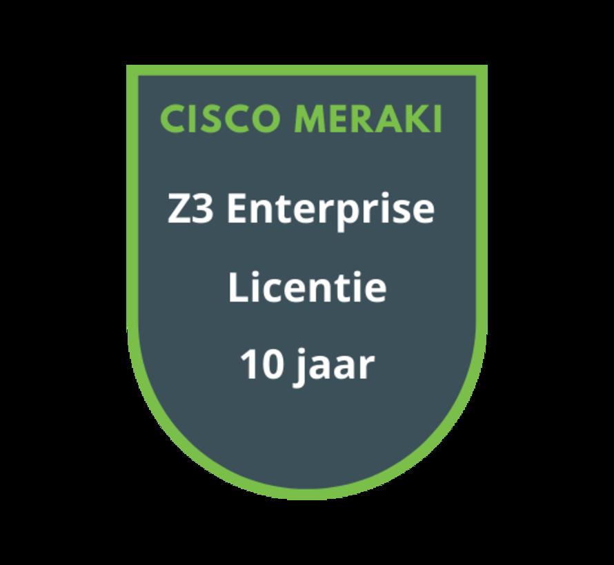 Cisco Meraki Z3 Enterprise Licentie 10 jaar