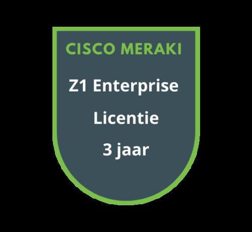 Cisco Meraki Cisco Meraki Z1 Enterprise Licentie 3 jaar