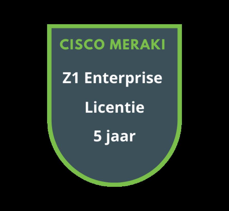 Cisco Meraki Z1 Enterprise Licentie 5 jaar