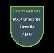 Cisco Meraki Cisco Meraki MX64 Enterprise Licentie 7 jaar
