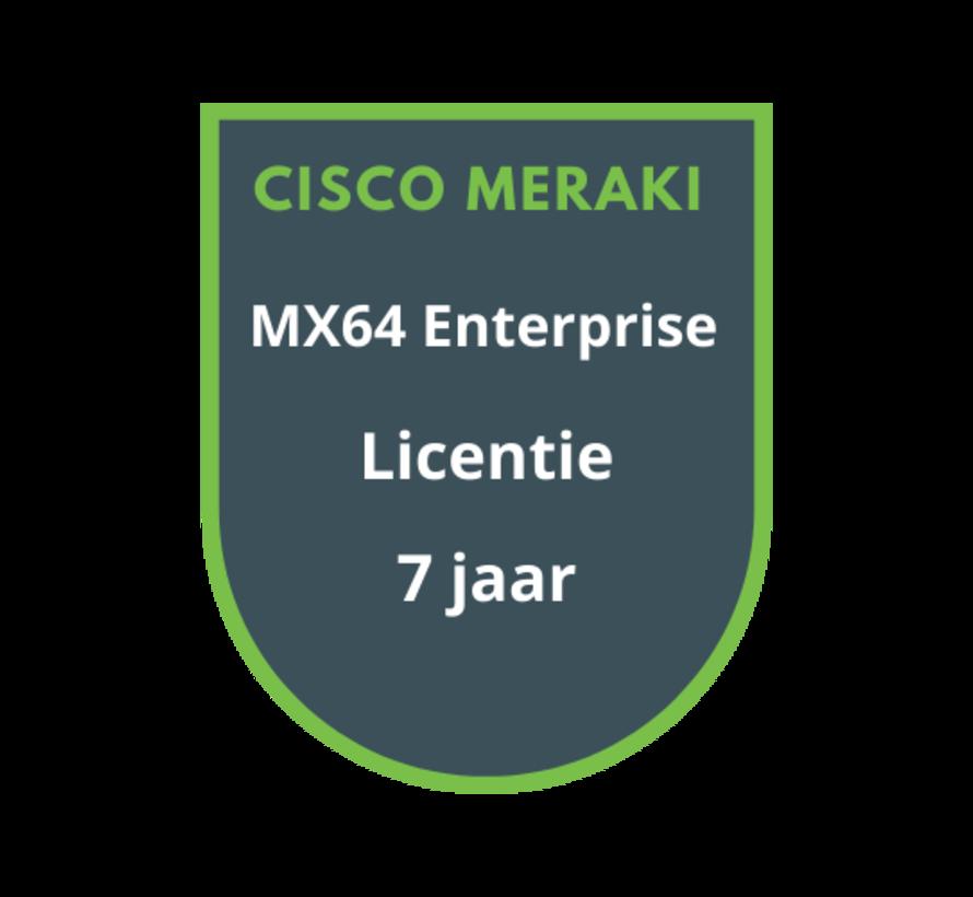 Cisco Meraki MX64 Enterprise Licentie 7 jaar