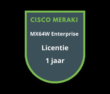 Cisco Meraki Cisco Meraki MX64W Enterprise Licentie 1 jaar