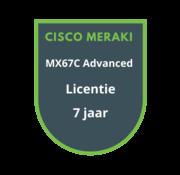 Cisco Meraki Cisco Meraki MX67C Advanced Security Licentie 7 jaar