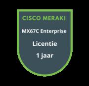 Cisco Meraki Cisco Meraki MX67C Enterprise Licentie 1 jaar