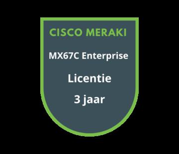 Cisco Meraki Cisco Meraki MX67C Enterprise Licentie 3 jaar