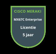 Cisco Meraki Cisco Meraki MX67C Enterprise Licentie 5 jaar