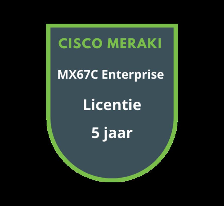 Cisco Meraki MX67C Enterprise Licentie 5 jaar