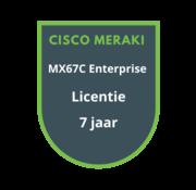 Cisco Meraki Cisco Meraki MX67C Enterprise Licentie 7 jaar