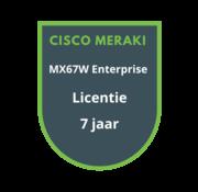 Cisco Meraki Cisco Meraki MX67W Advanced Security Licentie 7 jaar