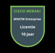 Cisco Meraki Cisco Meraki MX67W Advanced Security Licentie 10 jaar
