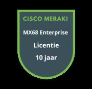 Cisco Meraki Cisco Meraki MX68 Enterprise Licentie 10 jaar