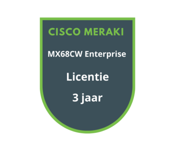 Cisco Meraki Cisco Meraki MX68CW Enterprise Licentie 3 jaar