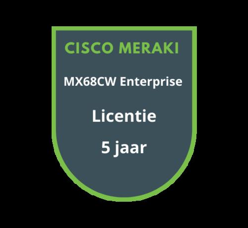 Cisco Meraki Cisco Meraki MX68CW Enterprise Licentie 5 jaar