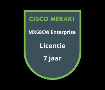Cisco Meraki Cisco Meraki MX68CW Enterprise Licentie 7 jaar