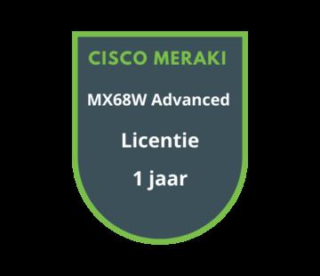 Cisco Meraki Cisco Meraki MX68W Advanced Security Licentie 1 jaar