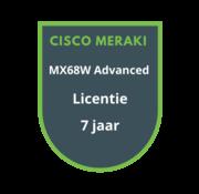 Cisco Meraki Cisco Meraki MX68W Advanced Security Licentie 7 jaar