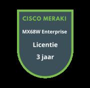 Cisco Meraki Cisco Meraki MX68W Enterprise Licentie 3 jaar