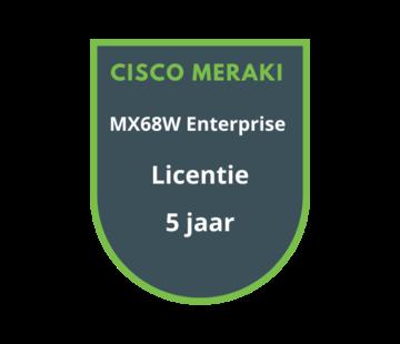 Cisco Meraki Cisco Meraki MX68W Enterprise Licentie 5 jaar
