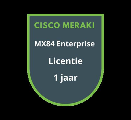 Cisco Meraki Cisco Meraki MX84 Enterprise Licentie 1 jaar
