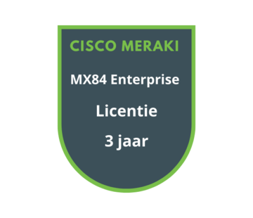 Cisco Meraki Cisco Meraki MX84 Enterprise Licentie 3 jaar