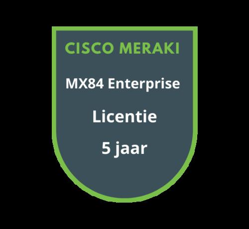Cisco Meraki Cisco Meraki MX84 Enterprise Licentie 5 jaar