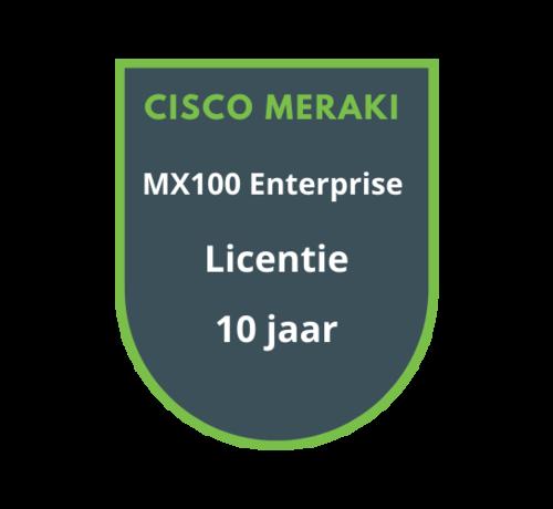 Cisco Meraki Cisco Meraki MX100 Enterprise Licentie 10 jaar