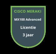 Cisco Meraki Cisco Meraki MX100 Advanced Security Licentie 3 jaar
