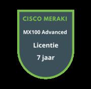 Cisco Meraki Cisco Meraki MX100 Advanced Security Licentie 7 jaar