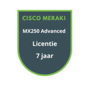Cisco Meraki Cisco Meraki MX250 Advanced Security Licentie 7 jaar