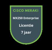 Cisco Meraki Cisco Meraki MX250 Enterprise Licentie 7 jaar