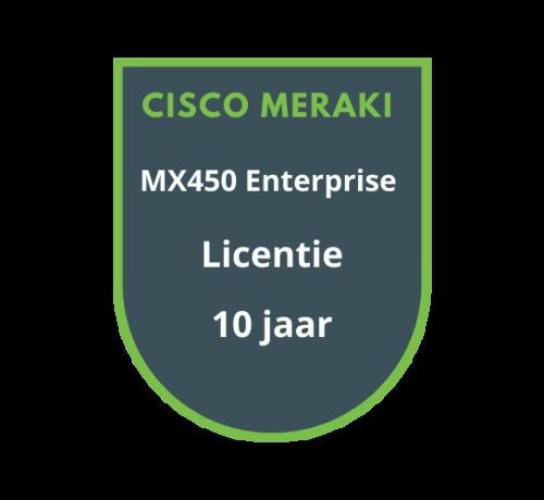 Cisco Meraki Cisco Meraki MX450 Enterprise Licentie 10 jaar