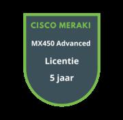 Cisco Meraki Cisco Meraki MX450 Advanced Security Licentie 5 jaar