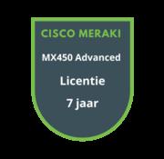 Cisco Meraki Cisco Meraki MX450 Advanced Security Licentie 7 jaar