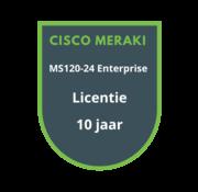 Cisco Meraki Cisco Meraki MS120-24 Enterprise Licentie 10 jaar