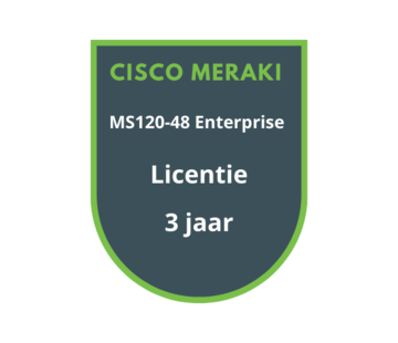 Cisco Meraki Cisco Meraki MS120-48 Enterprise Licentie 3 jaar