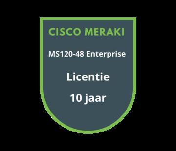 Cisco Meraki Cisco Meraki MS120-48 Enterprise Licentie 10 jaar