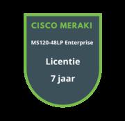 Cisco Meraki Cisco Meraki MS120-48LP Enterprise Licentie 7 jaar