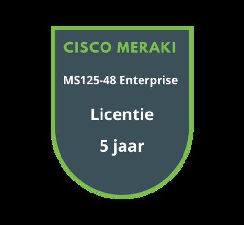 Cisco Meraki Cisco Meraki MS125-48 Enterprise Licentie 5 jaar