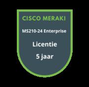 Cisco Meraki Cisco Meraki MS210-24 Enterprise Licentie 5 jaar