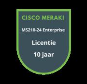 Cisco Meraki Cisco Meraki MS210-24 Enterprise Licentie 10 jaar