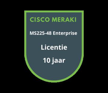 Cisco Meraki Cisco Meraki MS225-48 Enterprise Licentie 10 jaar